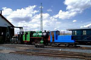 Oprava parní lokomotivy BS 80