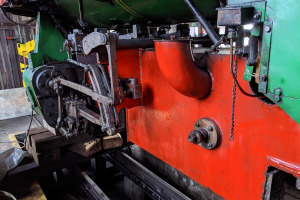 Oprava parní lokomotivy