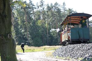 Přepadení vlaku a něco nového